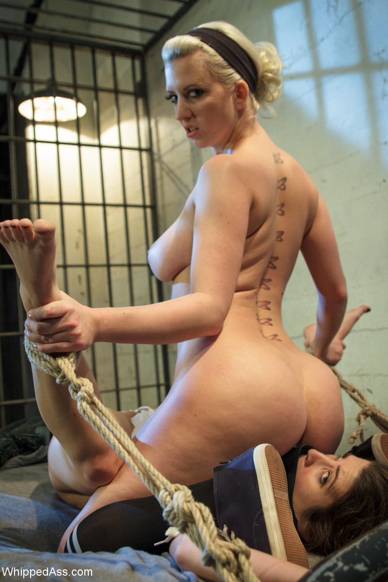 image Rope bondage babes fucked by huge cock