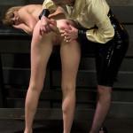 Lezdom punishes and ass fucks new dominatrix!